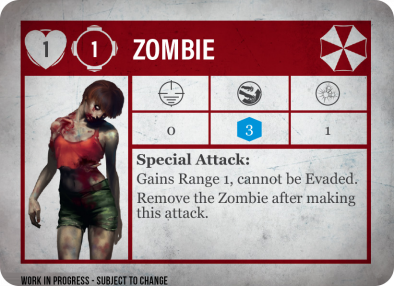 Steamforged Games Resident Evil 2 Board Game Zombie