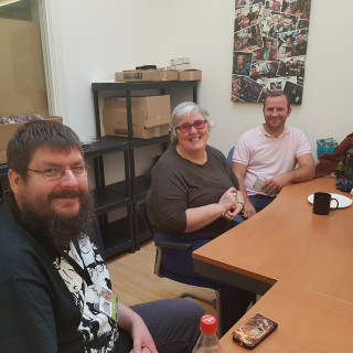 Settling in for a Days Gaming Craic!