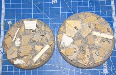 90mm and 100mm Urban Rubble