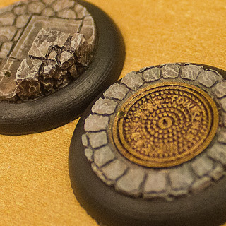Painting Cobblestone Bases In A Flash