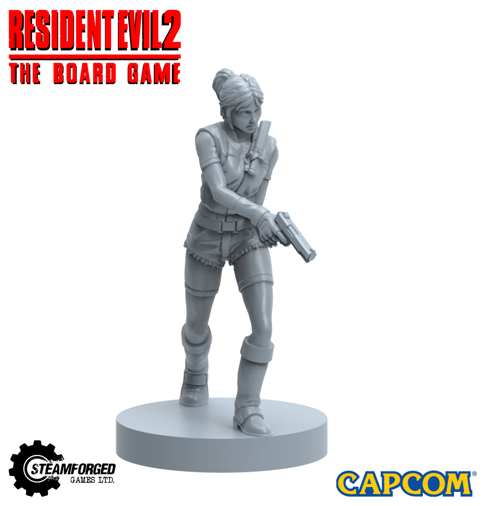 Steamforged Preview The Characters Monsters For Resident Evil 2