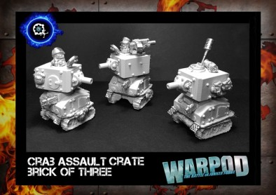 Crab Assault Crate Brick