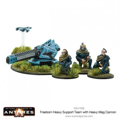 Freeborn Heavy Support Team With Heavy Mag Cannon