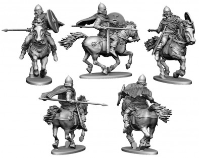 Gallic Cavalry (Renders)