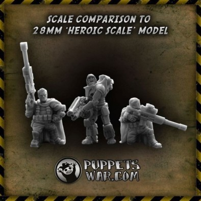 Halfling Snipers Scale