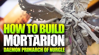 How To Build: Mortarion, Daemon Primarch of Nurgle