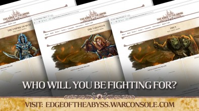 Kings of War Edge Abyss Campaign