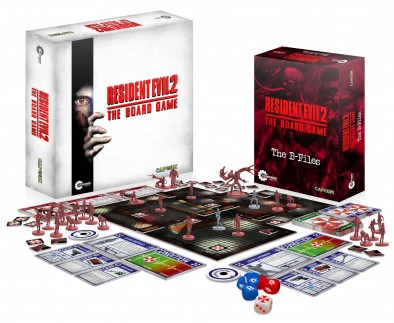 Resident Evil 2 The Board Game (Contents)