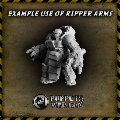 Ripper Arms Example