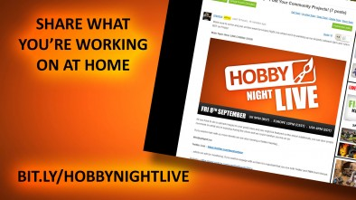 Hobby Night Live: Our Personal Projects 08/09/2017 9pm - 12am [BST]