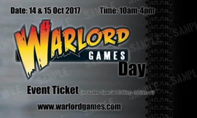 Warlord Games Day
