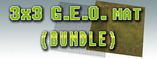 Take Your RPG To The Next Level With TABLEWAR's G E O  Mats