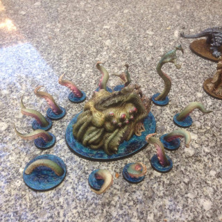 Painted Mythic Battles Pantheon Minis Stealing The Show