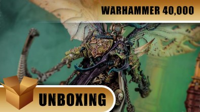 Warhammer 40,000 Unboxing: Mortarion