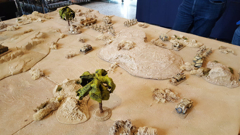 Desert War Conflict Taking Place, Bolt Action Style