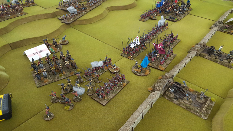 Brits Vs The Scots In Some Pike & Shotte