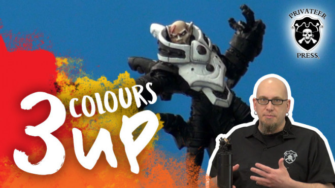 3 Colours Up – Painting Bright White Armour