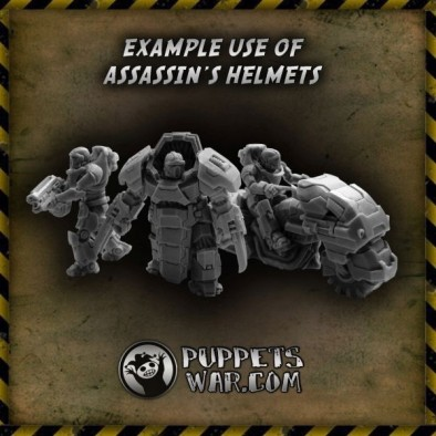 Assassins Helmets Examples