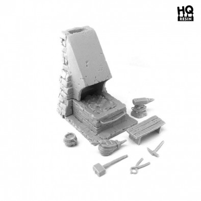HQ Resin Blacksmith's Forge #2