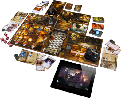 Mansions of Madness Layout