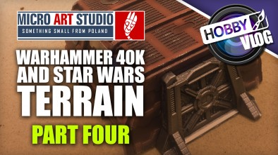 Hobby Vlog: Painting 40k & Star Wars Themed Terrain - Part Four