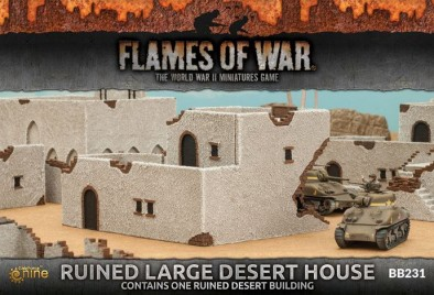 Ruined Large Desert House