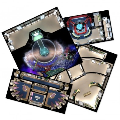 Star Fleet Deck Tiles