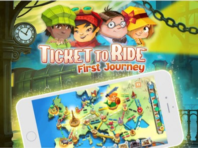 Ticket To Ride First Journey Feature