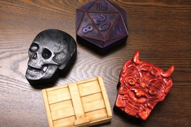 dog mite games dice boxes