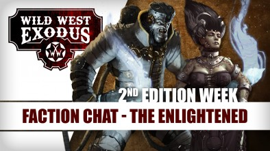Wild West Exodus Week: The Enlightened Faction Chat