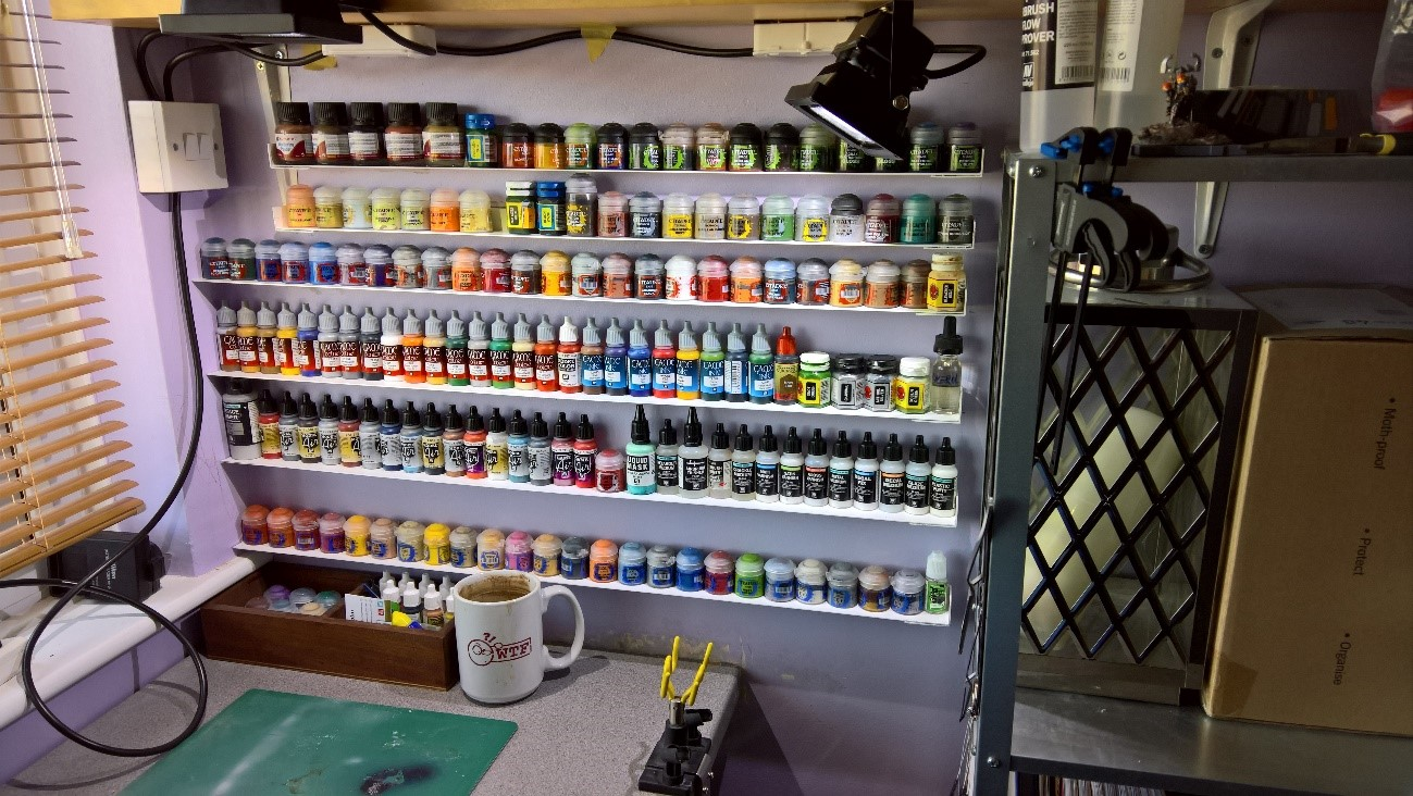 Build My Rack >> Hobby Blag Building Your Own Paint Rack Ontabletop Home
