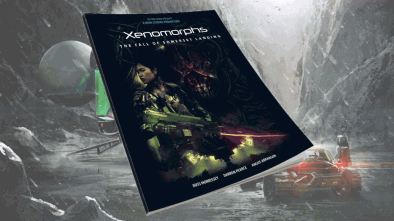 Xenomorphs The Fall of Somerset Landing Tabletop RPG