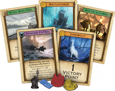 A Game of Thrones Catan Brotherhood Cards