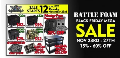 Battle Foam Black Friday