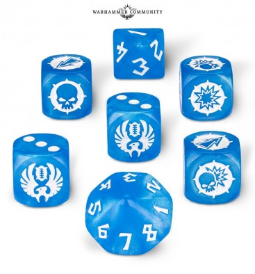 Blood Bowl Elf Dice