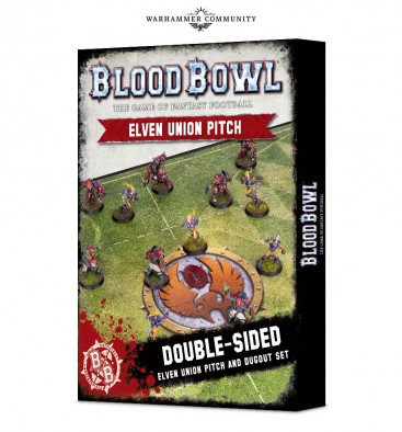 Blood Bowl Elf Pitch