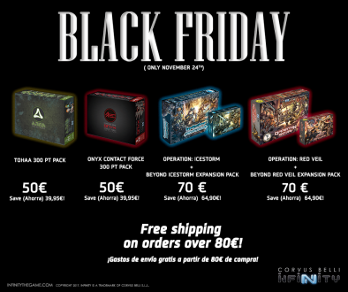 Corvus Belli Black Friday