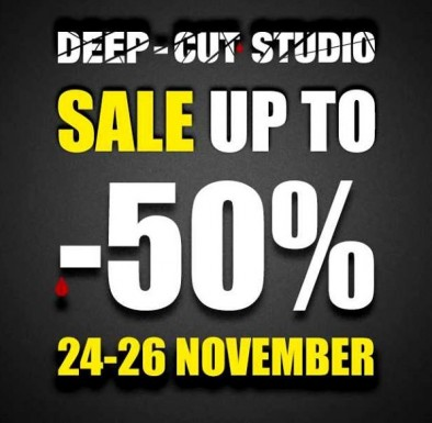 Deep Cut Studios Black Friday
