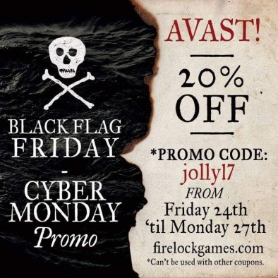 Firelock Games Black Friday Deal