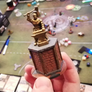 Guild Ball Goal Posts Are Front And Centre At SteamCon