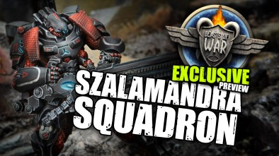 Exclusive Infinity Sneak Peek: Szalamandra Squadron
