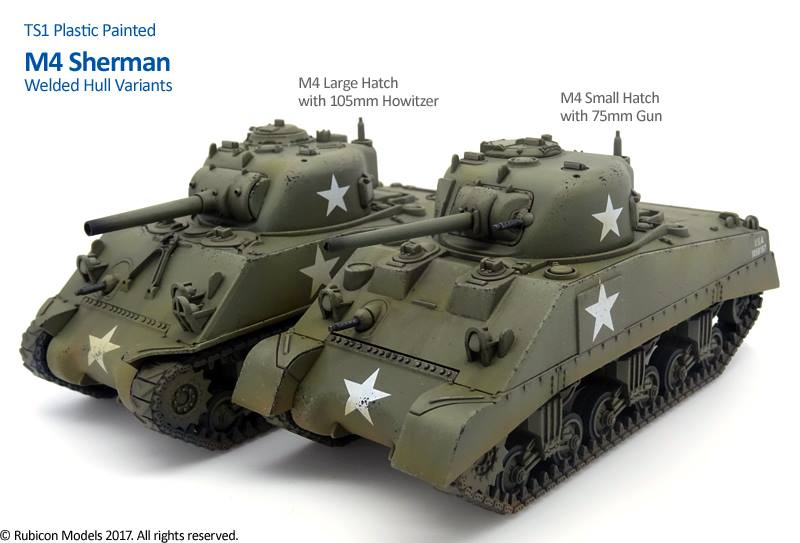 Rubicon Models Show Off Upcoming Sherman/Firefly Kits – OnTableTop