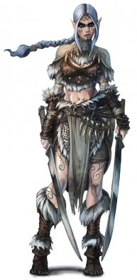 Northern Alliance Warband Half-Elf Berserker