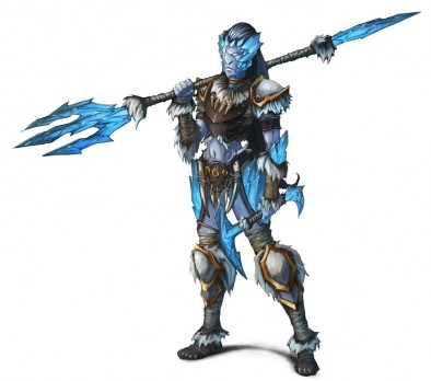 Northern Alliance Warband Ice Naiad