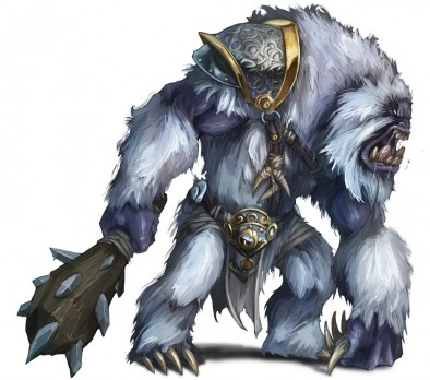 Northern Alliance Warband Snow Troll