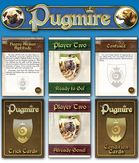 The Warriors Into The Wild Pdf: Be The Alpha Dog Of Pugmire Using New Player Aid Cards