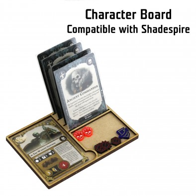 Read Beam Designs - Shadespire Character Board