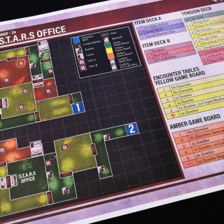 Newly Updated Resident Evil 2 Board Game Playthrough