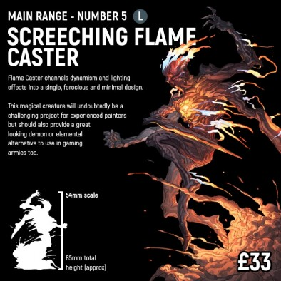 Screeching Flame Caster