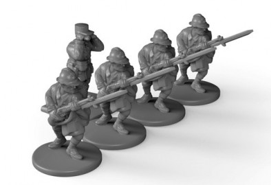 The Great War - French Soldiers